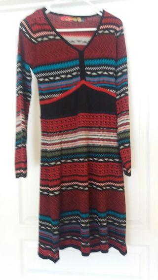 DESIGUAL NUEVO vestido tipo lana