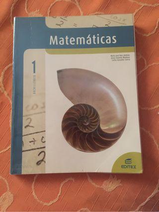 Libro matemáticas 1 bach