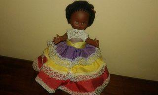 Muñeca de color marca b.b. española