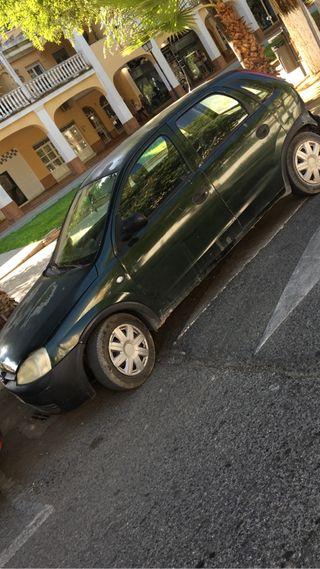 Opel corsa 1,2 gasolina muy bajo comsumo
