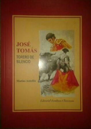 Libro del torero JOSE TOMAS