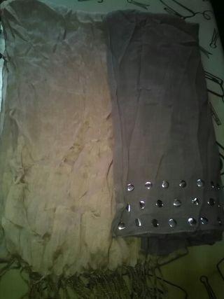 Pañuelos de varios tamaños