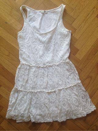 Vestido cortito blanco buen estado