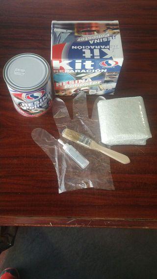 Kit resina poliester reparación 1kg
