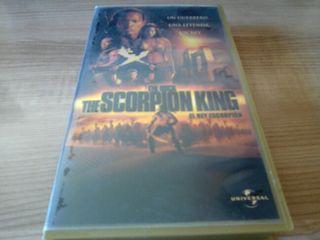 Cinta vhs el rey escorpion