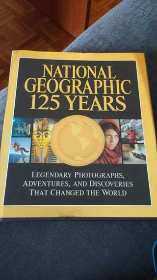 Libro National Geographic 125 years