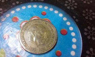 Moneda antigua de 1963