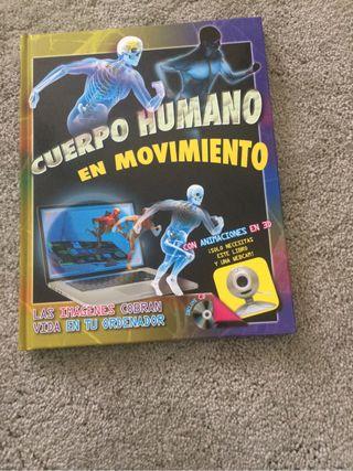 """Libro """"Cuerpo Humano en movimiento"""""""