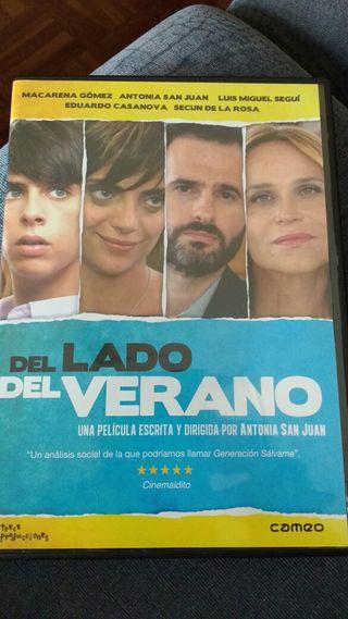 DVD Del lado del verano