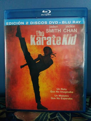 Blu-ray de Karate Kid.