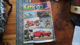 Álbum cromos mix 92 (colección completa)
