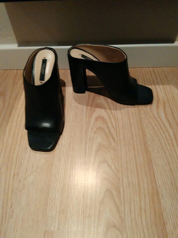 Zapato tacón zara talla 37 apenas sin uso