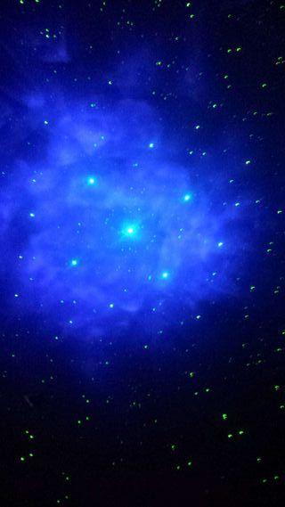 Proyector Laser de estrellas en el techo