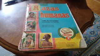 Álbum de cromos RAZAS HUMANAS de 250