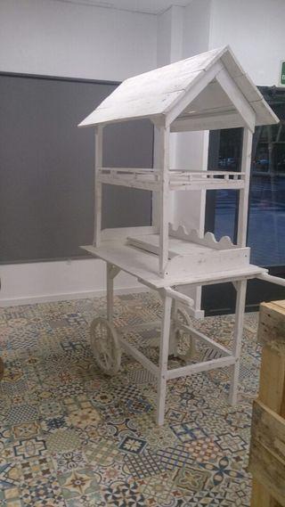 Se realizan muebles de palets desde 20 €