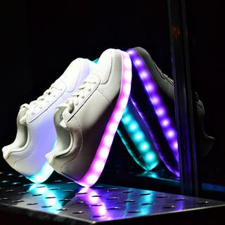 zapatillas con luces led