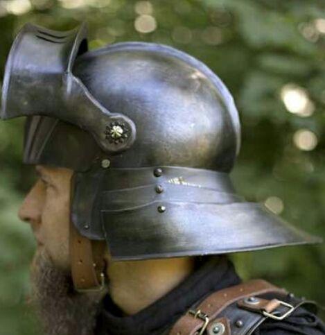 Casco funcional Siglo XV Aleman