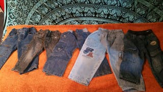 Pantalones tejanos niño 1-2 años