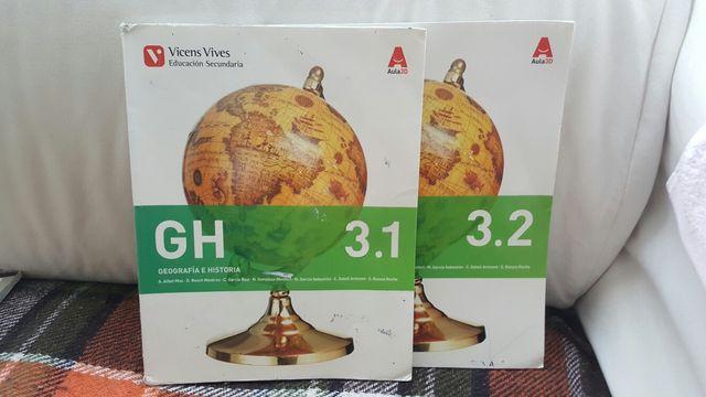 Libros 3Eso geográfica e historia