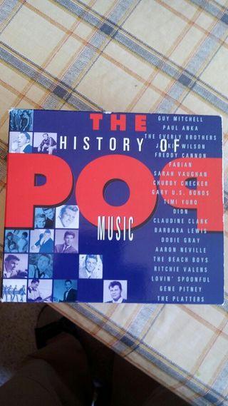Historia de la musica POP en 4 CD
