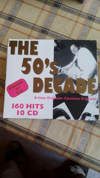 10 CD musica de los 50