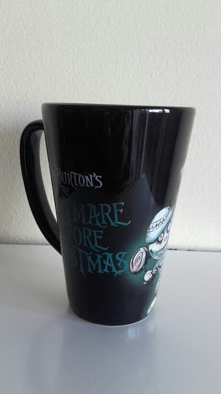 Taza grande Nightmare before Christmas
