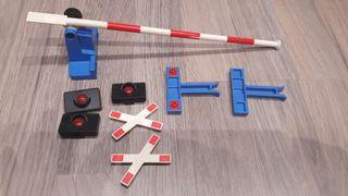 Piezas paso a nivel tren playmobil