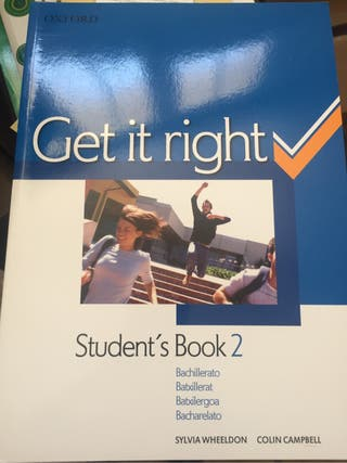 Get it right student's book 2 y workbook