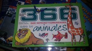 366 noticias y curiosidades sobreblos animales. Montena