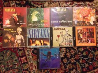 Coleccion Nirvana CDs