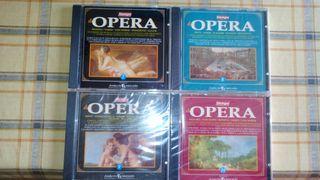 10 CD coleccion de Opera
