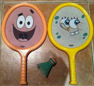 Raquetas Bob Esponja