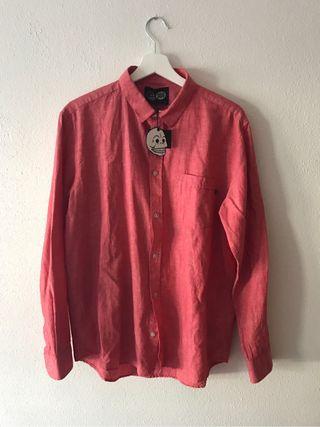 Camisa Rojo Coral Cheap Monday T. M