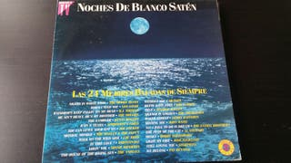 DISCO VINILO NOCHES DE BLANCO SATEN