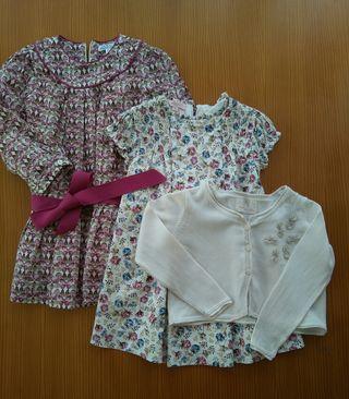 Lote ropa vestir niña 3 - 4 años.