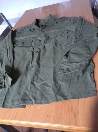 Camisa militar del ejercito autentica años 70/ 80