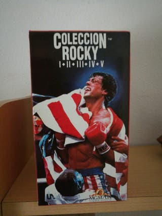 Colección original VHS Rocky