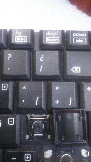 Teclas para teclado de portátil