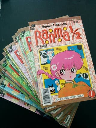 Lote de cómics de Ranma ½