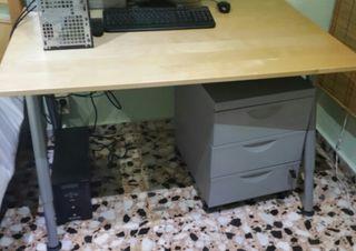 Escritorio Mesa Ordenador Galnt Ikea