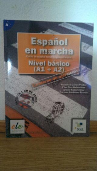 Libro ejercicios Español en Marcha