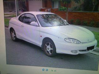 Hyundai coupe tiburon 2.0-16v.