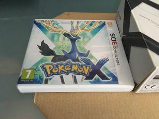 CAJA ORIGINAL de Pokemon X 3DS/2DS/New 3DS