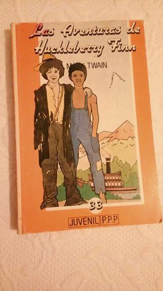 """Libro """"Las aventuras de Huckleberry Finn"""""""