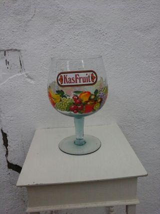 Copa gigante de vidrio