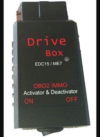 drive box activa o desactiva inmobilizador