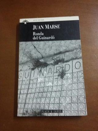 """Libro """" Ronda del Guinardó"""" de Juan Marse"""