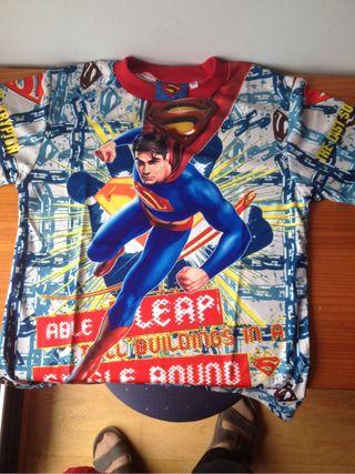 Camiseta de superman talla m