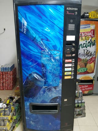 Maquina vending azkoyen palma