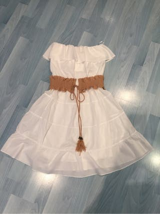 Vestido de blanco
